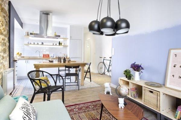 Thiết kế căn hộ mang phong cách Chiết Trung